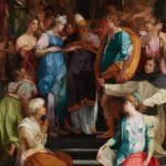 Rosso Fiorentino, Le Mariage de la Vierge, Eglise San Lorenzo, Florence