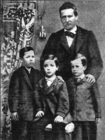 Ruggero, Giacomo, Luigi e Giovanni Pascoli