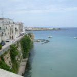 Otranto, bord de mer