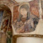 Otranto, Eglise de San Pietro, fresque de la Madonna