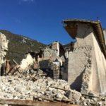 San Salvatore di Campi di Norcia prima e dopo il terremoto