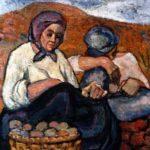 Contadine molisane, un quadro di Bianca Santilli
