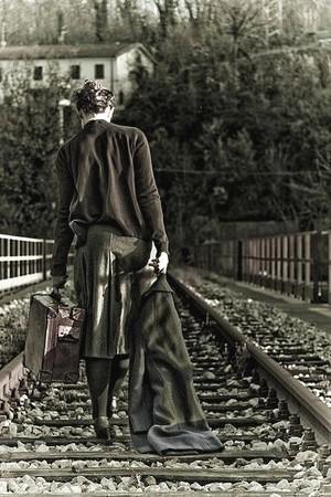 Si dice che partire è un po' come morire ©Il ramingo - Sebastiano Bongi toma