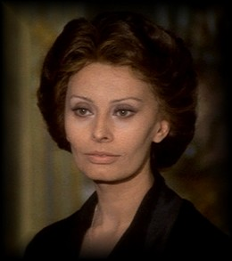 Sophia Loren nel film
