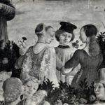 Particolare del Mese di Aprile di Francesco del Cossa - Palazzo Schifanoia a Ferrara