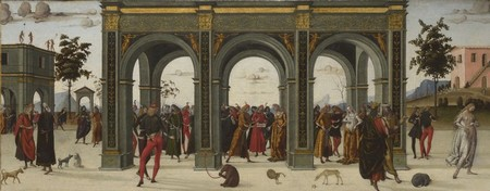 La storia di Griselda, di Luca Signorelli (baule di matrimonio) - Londra