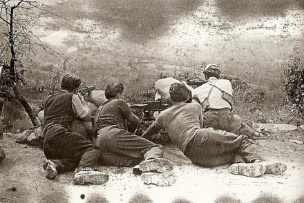 Partigiani appostati