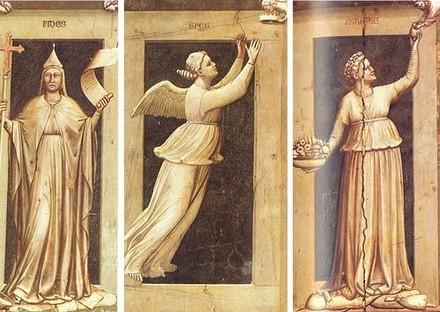 Le tre virtù teologali