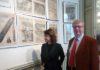 Paris, lundi 8 janvier, présentation de l'exposition 1918 par Alberto Toscano, en présence de Mme Delphine Burkli, Maire du 9e arrondissement.