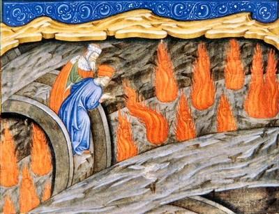 Ulisse nell'Inferno di Dante, anonimo lombardo