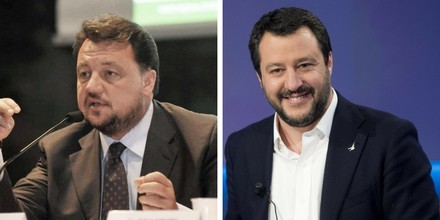 Gianni Fava e Matteo Salvini