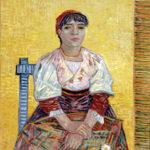L'italienne, la ciociara 'Agostina' di Van Gogh al Museo d'Orsay, Parigi.