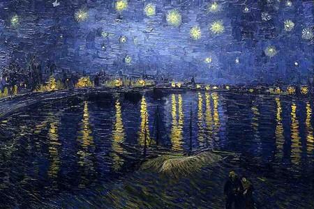 Notte stellata, di Van Gogh