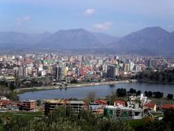 Veduta di Tirana
