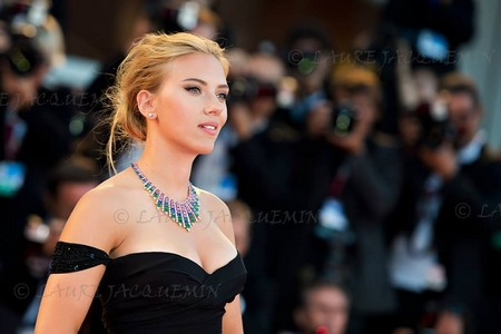 Scarlett Johansson sur le Red Carpet. Laure Jacquemin©
