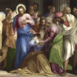 Paolo Veronese, Cristo e l'adultera, The National Gallery, London. Wynn Ellis Bequest, 1876
