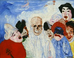 Le morte e le maschere, di James Ensor