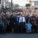 Barack Obama a Selma: la marcia per i diritti non è finita