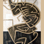 3. Paris 2006. Crayon couleur sur papier kraft. cm 70x100