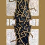 8. Paris 2006. Crayon couleur sur papier kraft. - cm.70x200