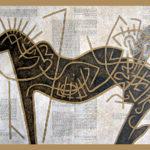 9. Paris 2006. Crayon couleur sur papier kraft. cm 200x140
