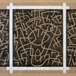 13. Paris 2008. Crayon couleur sur papier kraft. cm 160x120