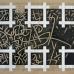 14. Paris 2008. Crayon couleur sur papier kraft. cm 160x120