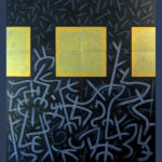 18. Paris 2008. Acrylique et Crayon sur carton. cm 160x180