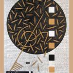20. Paris 2010. Crayon couleur sur papier kraft. cm 120x160