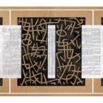21. Z.D.A.projet_01. Crayon couleur sur papier kraft. cm 480 x 120