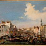 """Ippolito Caffi, """"Venezia, Regata in Canal Grande"""", ante 1848-49, Fondazione Musei Civici di Venezia"""