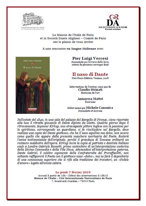 Il naso di Dante par Pier Luigi Vercesi