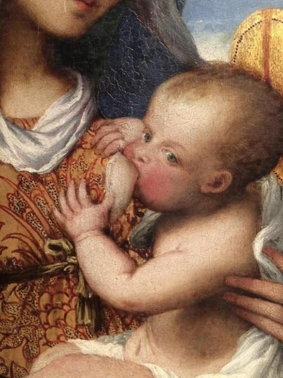 Lotto Macerata Madonna et l'enfant