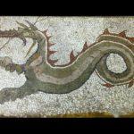 Mosaico drago monasterace