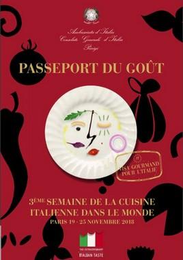 Semaine cuisine italienne dans le monde Paris