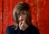 """Monica Vitti nel film """"Il deserto rosso"""", regia Michelangelo Antonioni"""