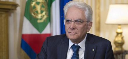 Mattarella presidente italiano
