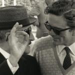 Toto' con Pier Paolo Pasolini