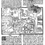 """Figura 3 Ovidio, """"Metamorphoses"""", Venezia, Giovanni Rosso, 1497. Storia di Ciparisso."""