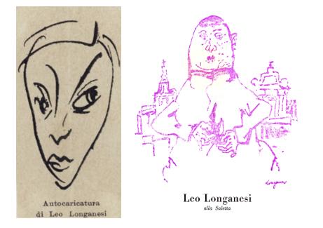 Caricatura di Longanesi