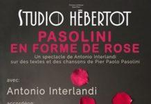 spectacle Interlandi Pasolini